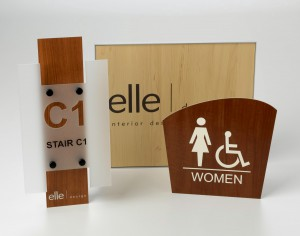 Contemporary Wood Collection sample signs