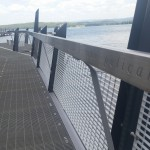 Stainless Steel Engraved Handrails