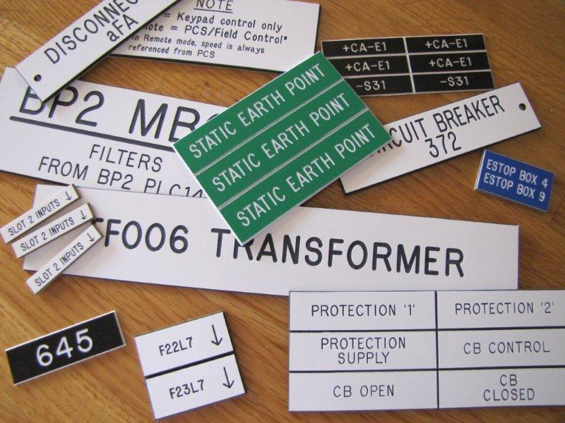 Electrical Labels And Signs Total Engraving